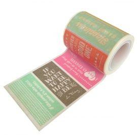 Masking tape words. Ook te koop via Webshops Only concept store