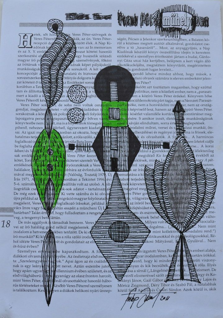 No title / technic: ink on paper / 21x29.7 cm / 2011 Artist:Fülöp József