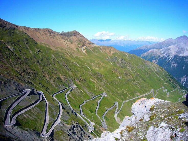 Passo di Stelvio, Alps, Italy