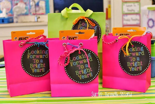 Fun Gifts for co-workers Looking Forward to a Bright Year!!
