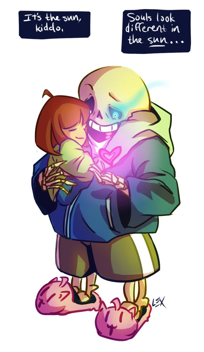undertale sans and chara doujinshi www