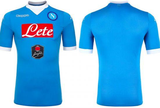 Napoli home shirt 2015-16.