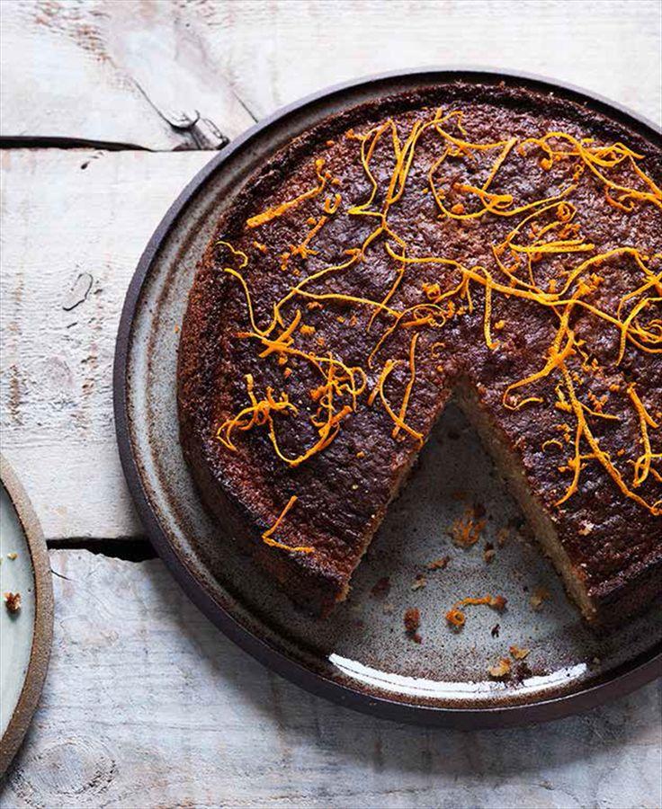Spelt orange cake recipe from Scandinavian Baking by Trine Hahnemann | Cooked