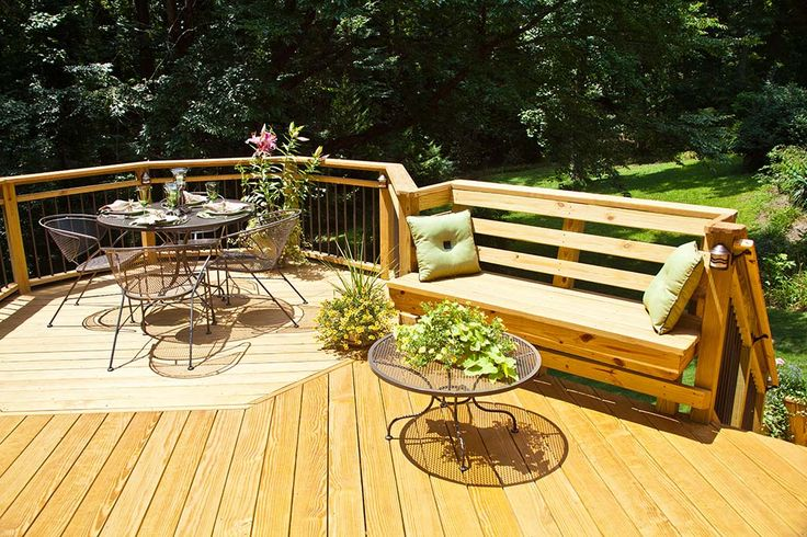 Pin by Madison Wood on MADWOOD Finished Decks Outdoor