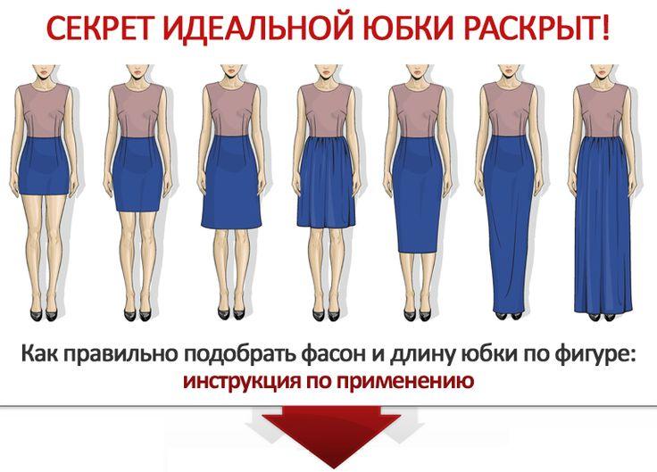 Как правильно подобрать фасон и длину юбки по фигуре - Имидж-студия StyleProfi