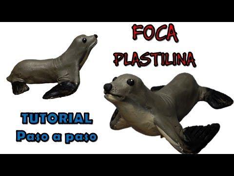 Como hacer una foca de Plastilina / How to make a seal with clay - YouTube