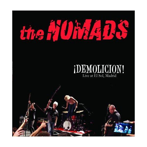 LP The NOMADS: ¡Demolicion! Live At El Sol, Madrid (red) - Ghost Highway Shop