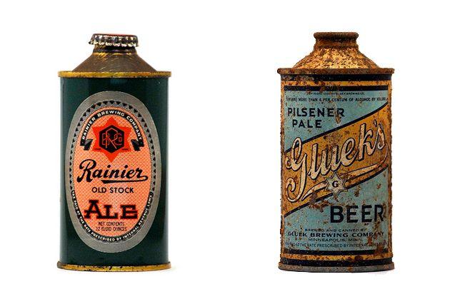 Old beer packaging