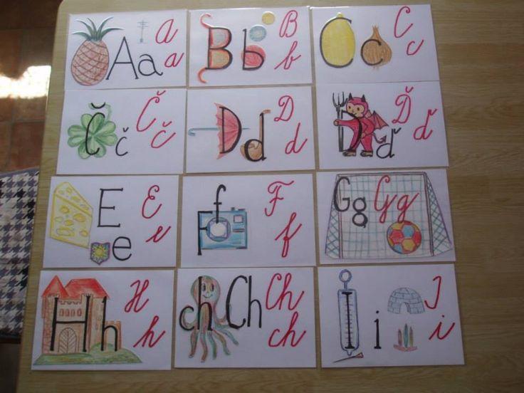 Obrázková abeceda 1 (autorka Marcela Hradecká)