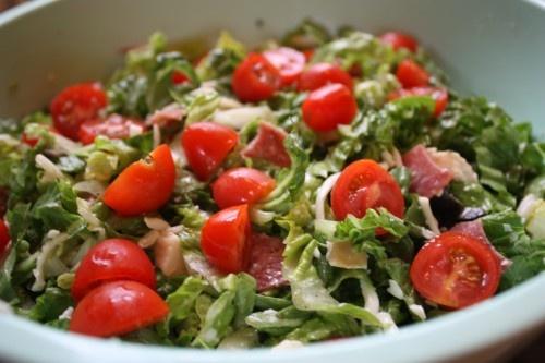 Antipasto Chicken Chopped Salad Recipe. YUM!Chicken Salad