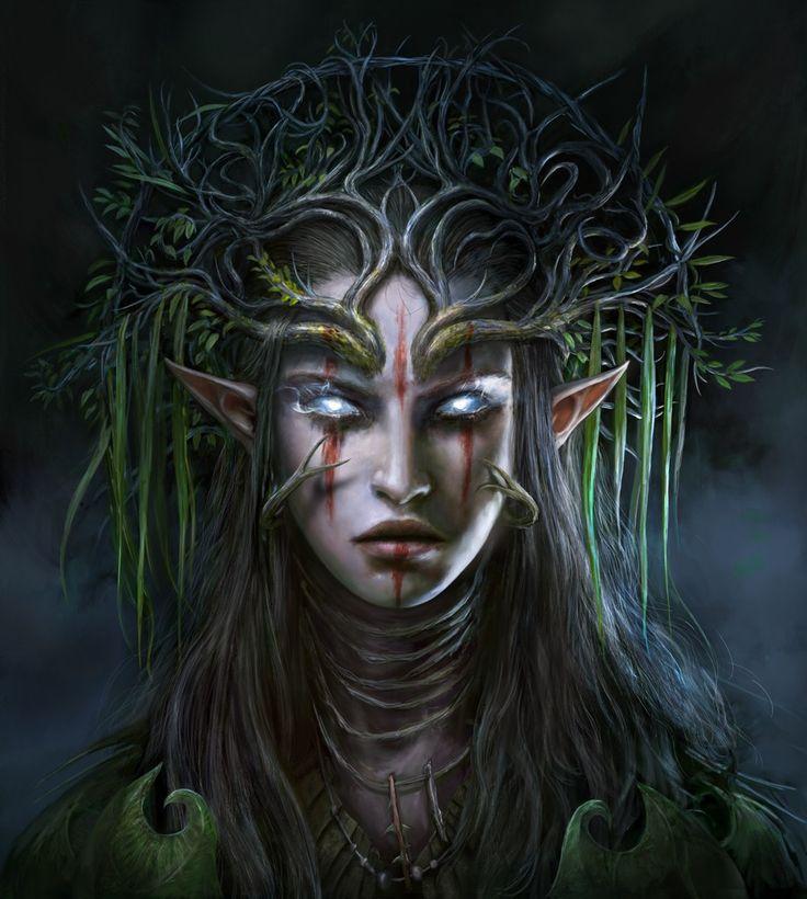 Elf - Divinity: Original Sin 2. Amazing game! (Art from their website) #divinityoriginalsin #elf