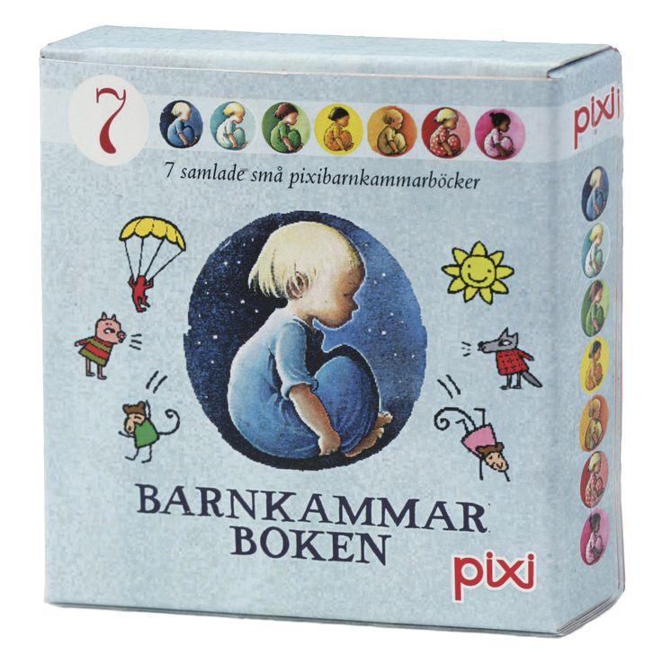 Barnrumsinredning & inspiration till barnrum. Leksaker och babyprodukter & barnrumsinredning. Barnkammarboken pixi-samling 7 stycken. Smallroom