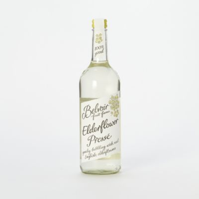 Elderflower Presse is a natural sparkling soda, lightly scented with elderflowers. 8.00