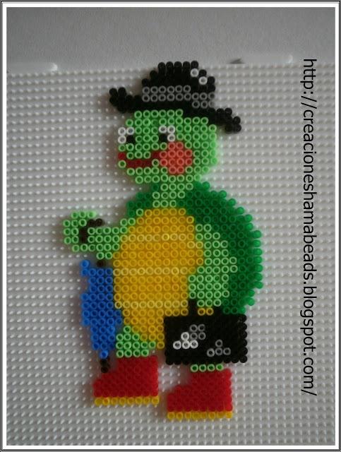 Tortuga by Creaciones Hama Beads