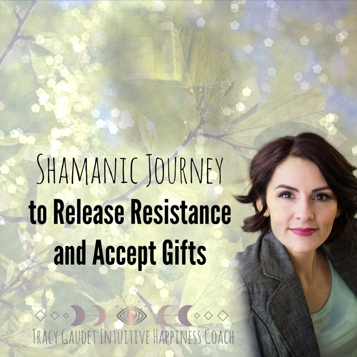 Shamanic journey guided energy healing to release resistance open to Soul gifts