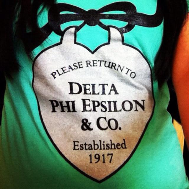 Tiffany's theme. #dphieAlpha Xi, Bid Day Themes, Alpha Phi, Sorority Recruitment Tiffanys, Alpha Chi, Epsilon Phi, Phi Alpha, Delta Phi Epsilon Shirts, Alpha Epsilon