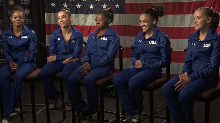US gymnastics team 2016   | US women's gymnastics team primed 'to go to Rio and just dominate ...