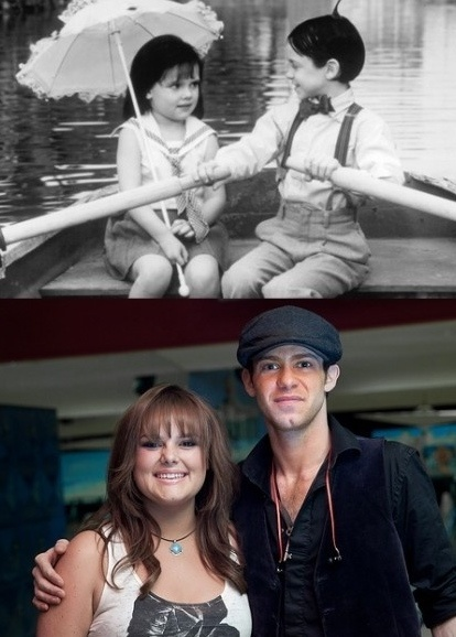 Darla and Alfalfa all grown up! Ohhhh myyy goshhhh