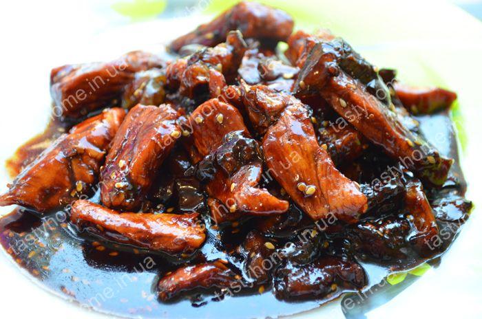 Курица с баклажанами по-китайски - Вкусный дом - пошаговые рецепты с фото