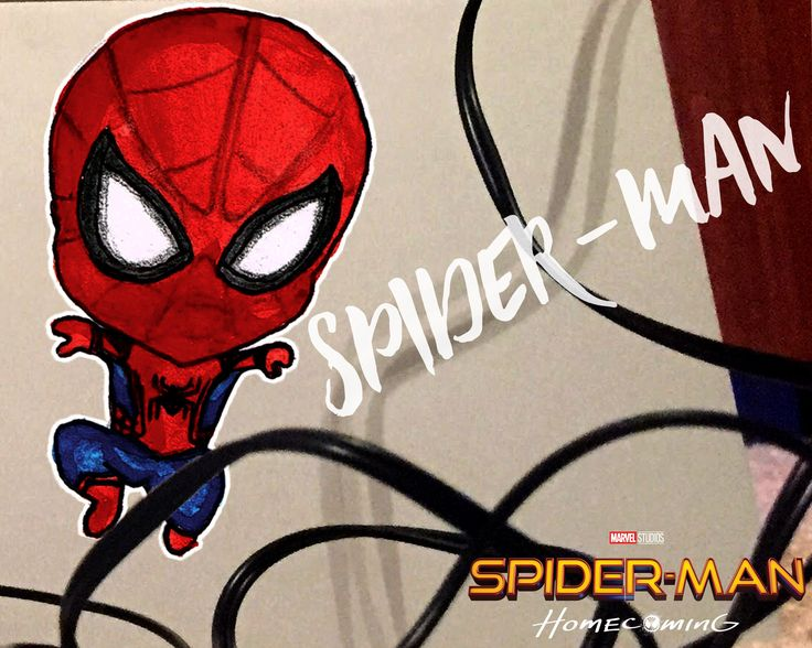 A personal favourite from my Etsy shop https://www.etsy.com/au/listing/535370368/spider-man-chibi-spider-man-homecoming