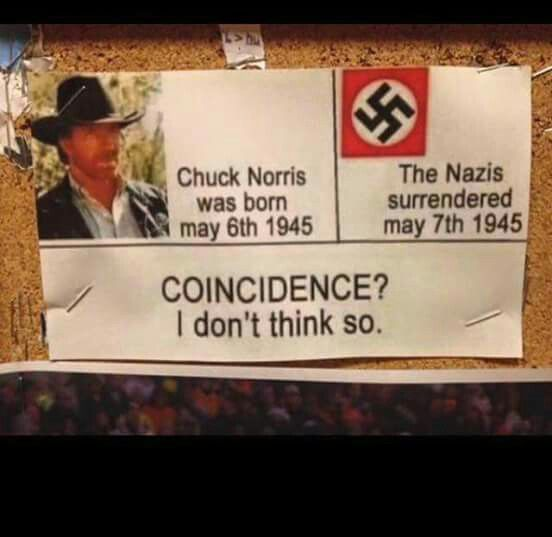 Chuck Norris... I don't think so