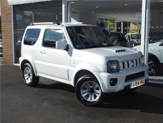 Used 2014 (64 reg) White Suzuki Jimny 1.3 VVT SZ4 3dr Auto for sale on RAC Cars