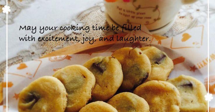 大好きなあのクッキーを真似て、フライパンで焼くソフトクッキー♪