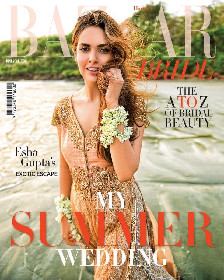 Esha's exotic escape, covers Harper's Bazaar Bride | PINKVILLA