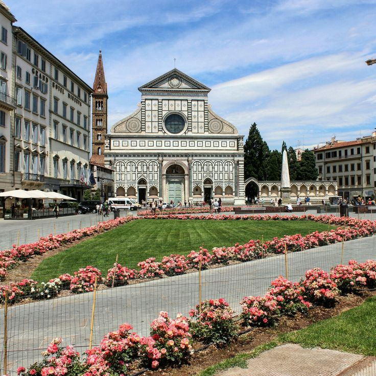 The Church of Santa Maria Novella, Florense,Italy