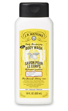 "Lemon Moisturizing Body Wash Watkins Natural Products  Want to place an order ... go to www.jrwatkins.com Click top right corner ""Sign In/Create Account"" Click ""Create a Watkins Customer Account"" Fill out the form and on the right hand side click ""I shop with a J.R. Watkins Consultant"". Enter 645274 in ""My Consultant Number"" Sign up at www.respectedhomebusiness.com/645274"