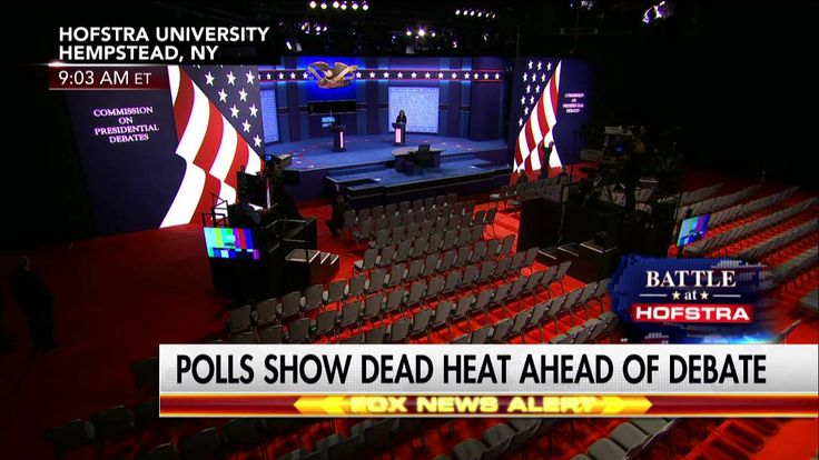TONIGHT: Fox News Channel Presents Live Coverage of the First Presidential Debate