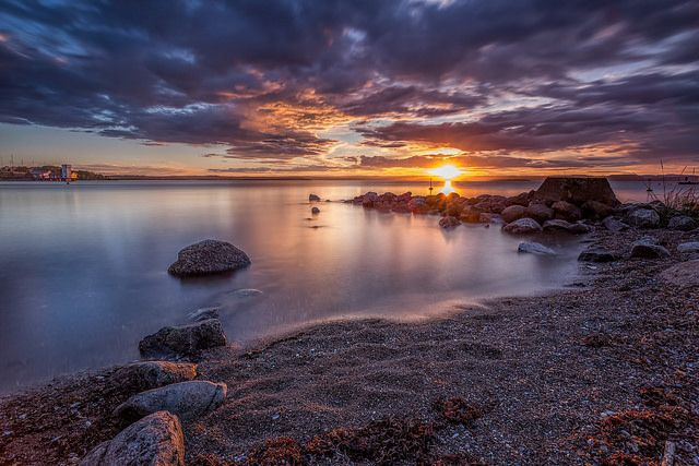 Sunset | A nice sunset in Moss, Norway. | Bent Velling | Flickr