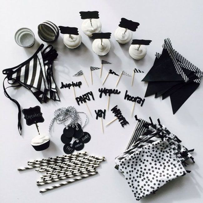 Las 25 mejores ideas sobre fiestas de blanco y negro en - Decoracion salon blanco y negro ...