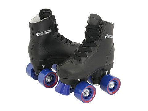Chicago Skates Youth Rink Skate (Toddler/Little Kid/Big Kid) Black/Blue - Zappos.com Free Shipping BOTH Ways