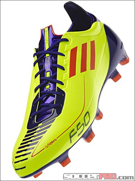 detailed look 6efce 2cb2f adidas F50 adiZero TRX FG - Electricity with Infrared and Anodized  Purple...99.99  Soccer Shoes  Pinterest  Adidas soccer shoes, Soccer  shoes and Soccer ...