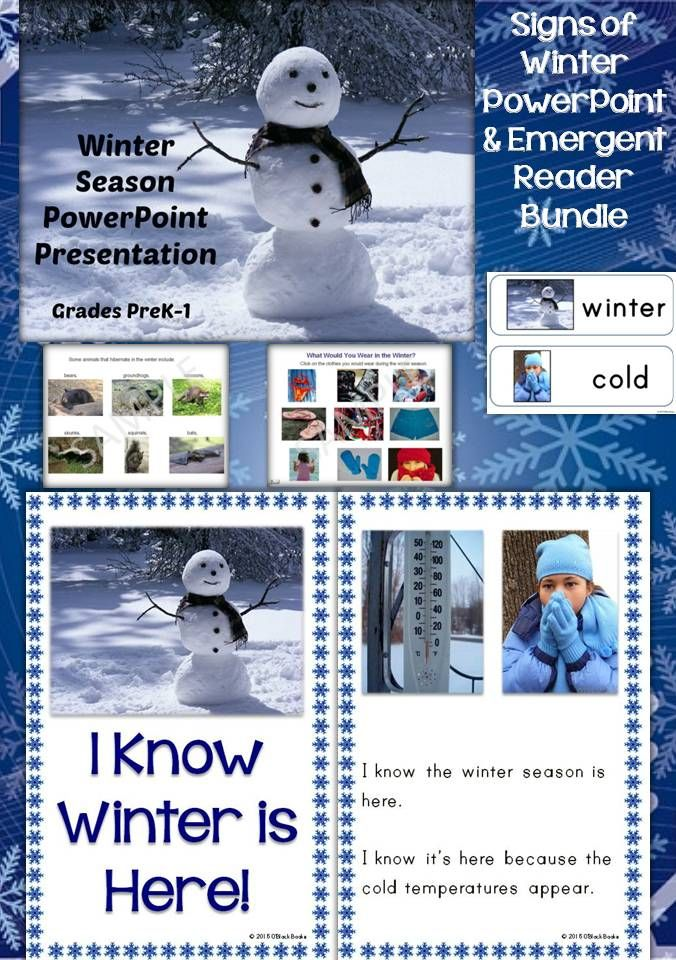143 best Projects to Try images on Pinterest Winter, Winter - winter powerpoint template