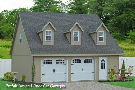 Amazing Garage Kits Pa #1 Prefab 3 Car Garage Kit