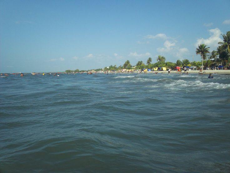 La Playa en Coveñas.
