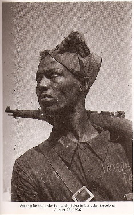 CNT-FAI Anarchist militiaman.