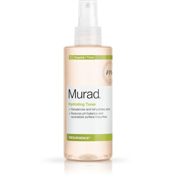 Murad Hydrating Toner from the Resurgence anti-aging line hydrates for younger looking skin. Read reviews and buy Murad skin care products.