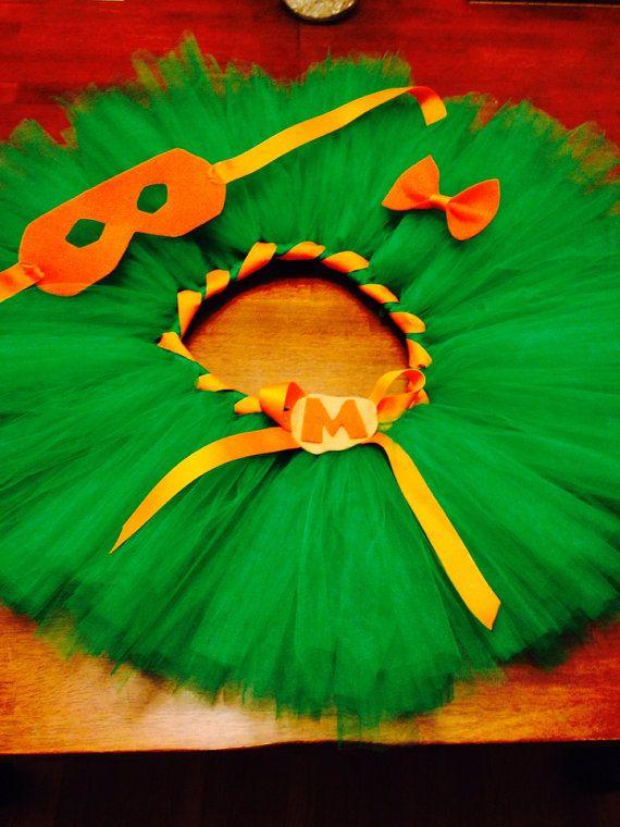 Ninja turtles tutu skirt costum by LuckyBoutique2886 on Etsy