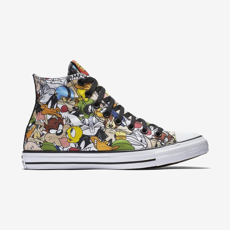 Nike (owner of Converse) has previously collaborated with Warner Bros. with kicks featuring Space Jam and DC Comics superheroes characters.  This time it's releasing its iconic Chuck Taylor All-Star sneakers featuring a bevy of Looney Tunes looks, including Bugs Bunny, Taz, and Tweety.  Available from Nike's online store in toddlers, kids and adult sizes, starting at $35.