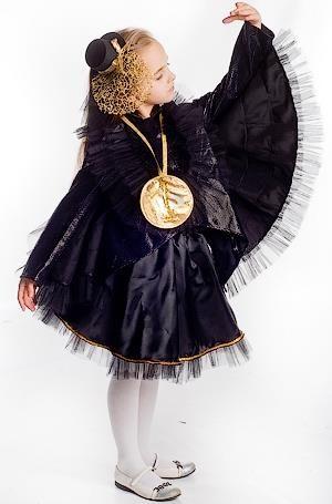 Новогодний детский костюм вороны
