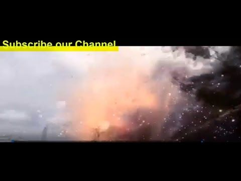 Massive explosion at fireworks warehouse