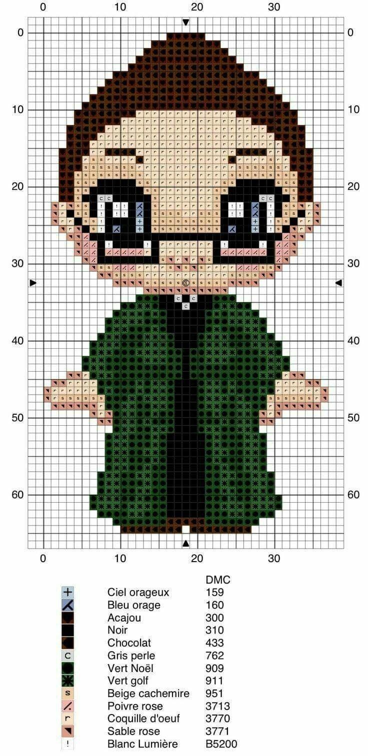 72 best Cross Stitch Harry Potter images on Pinterest   Kreuzstich ...