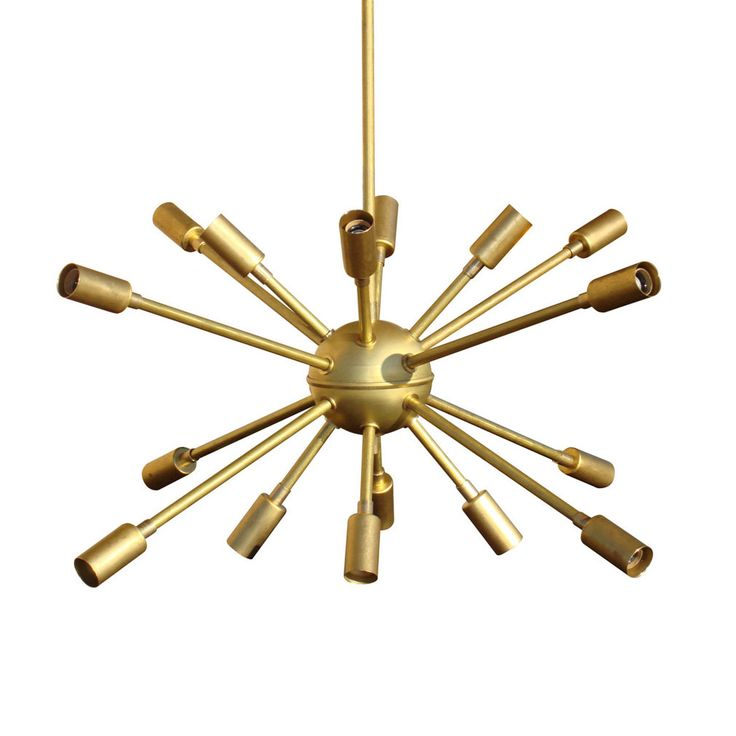 Starburst Sputnik Chandelier retro fun