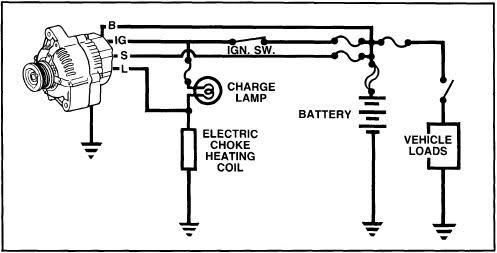 a3fl6w on toyota alternator wiring diagram  alternator