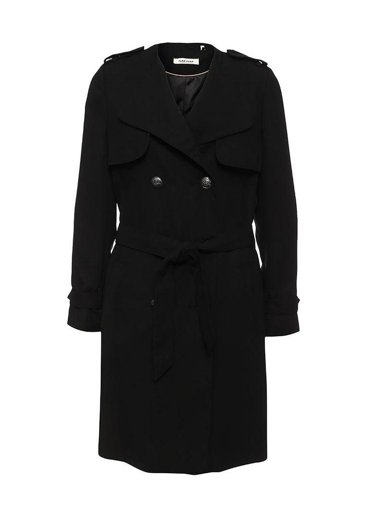Пальто Naf Naf купить за 4 490 руб NA018EWKEU49 в интернет-магазине Lamoda.ru