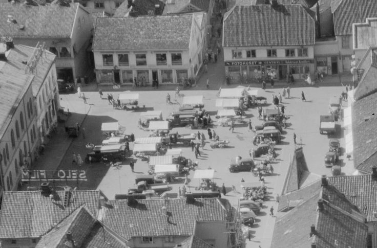 Tønsberg Torg, 1949.