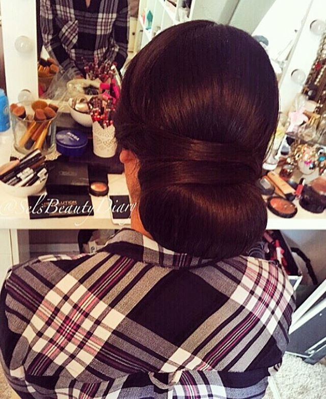 WEBSTA @ selsbeautydiary - ❤️ #work#hair#hairstyle#hairstylist#makeupartist#germany#mönchengladbach#client#hairoftheday#makeup#wedding#weddingday#love#amazing#today#weddinginspiration#weddinghair#good#brown#lashstylist#donebyme#beauty#beautiful